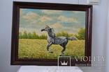Картина *Лошадь * худ.Скаржинский 2003г