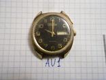 """Часы мужские """" Слава"""", корпус  AU 1, рабочие, фото №2"""