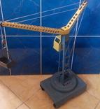 Башенный кран ссср, высота 62,5 см. photo 4