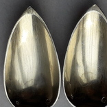 6 чайных ложек в русском стиле (a la russ), серебро, 74 грамма, Франция, в коробке photo 5