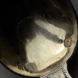 6 чайных ложек в русском стиле (a la russ), серебро, 74 грамма, Франция, в коробке photo 7