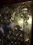 Икона серебро позолота photo 3