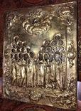Икона серебро позолота photo 4