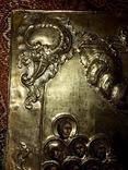 Икона серебро позолота photo 6