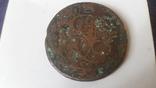 Монета 5 копеек 1782г сбуквами ЕМ, фото №2