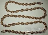 Серебреная цепочка в позолоте Италия, фото №4