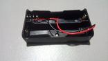 Холдер для двух аккумуляторов 18650