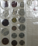 Мега лот 131 монета мира в альбоме photo 2