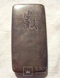 Серебряная таблетница, Япония 19 век., фото №3