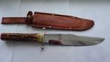 Охотничий нож BOWIE-Othello|Anton Wingen JB/Solingen/Германия. photo 2