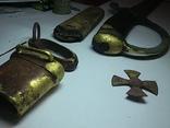 Сабля образца 1881г.,51-го Драгунского полка номер 1100 с ножнами и крестом.