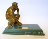 "Бронзовая скульптура на камне ""Победителю President's Putter"" гольф. photo 1"