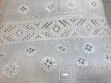 Льняная Вышиванка. .Белым по белому. Полтавская область., фото №3