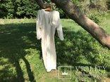 Льняная Вышиванка. .Белым по белому. Полтавская область., фото №10