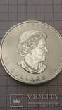50 долларов, Палладий,унция,Канада,2015 год, унциркулейтед.