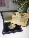 Золотые часы HAMILTON с документом США 19-20 век