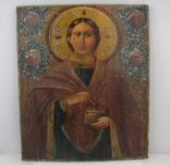 Икона Пантелеймон Целитель. Украинское барокко.
