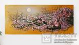 """""""Сакура"""" картина картина маслом. (190х85 см) Ю.Смаль"""