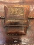 Сумка кожа.1920.Интересная застежка., фото №8