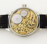 Часы наручные марьяж скелетон OMEGA нержавеющая сталь, гравировка женщина photo 6
