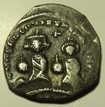 Двойной милиарисий императора Ираклия I и его сына Константина (612-641) photo 1