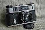 Фотоаппарат ФЭД-5 С, Юбилейный выпуск 70лет ФЭД упаковка, инструкция. photo 2