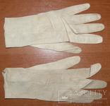 Перчатки Антикварные. Тончайшая Кожа. Довоенные.