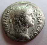 Серебряная драхма Hadrian, Caesarea, 121 год н.э. мондовор - Cappadocia., фото №3