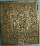 Икона ''Богородица Тихвинская с клеммами''.