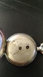 Серебряные карманные часы, фото №6