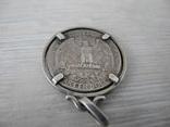 Дукач из квотера 1963 г. ( серебро 9 гр ) photo 5