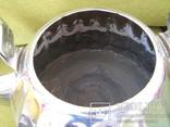 Чайник большой латунь 1968 года пр-во СССР с клеймом, фото №7