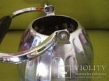 Чайник большой латунь 1968 года пр-во СССР с клеймом, фото №12