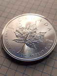 5 долларов 2018 г. Канада серебро 31,1гр