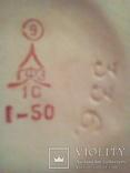 Фарфоровой петушок ГФЗ с мономером 336 редкий, фото №6