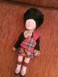 Винтажная кукла Шотландский солдат, фото №6