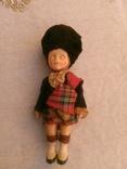 Винтажная кукла Шотландский солдат, фото №7