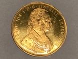 Австрия 4 дуката 1915 г. Золото