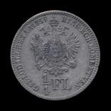 1/4 Флорина 1859 В, Австро-Венгрия