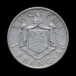 1 Франг 1937, Албания