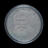 5 Марок 1983 100 лет со дня смерти Карла Маркса, Германия ФРГ ПРУФ