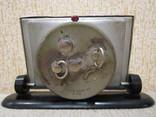 Часы будильник Слава 11 камней 1957 год, фото №6