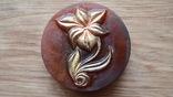 Мыло ручной работы -Каменный цветок- с ароматом мимозы 90 г, фото №3