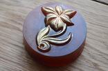 Мыло ручной работы -Каменный цветок- с ароматом мимозы 90 г