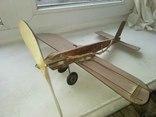 Самолёт деревянный, большой, фото №2