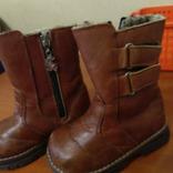 Зимние кожанке ботиночки