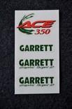 Наклейки Garrett ACE 350