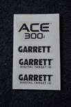 Наклейки Garrett ACE 300і