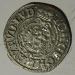 1/24 талера 1615 года, княжество Анхальт,совместный чекан.