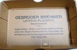 Немецкая старая коробка Gebruder Brehmer Leipzig, фото №3